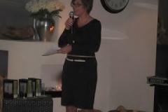 Voorzitter Angela Riddering