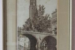 Oude ets van de Oudegracht Utrecht