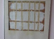 Gemengd paneel kunstwerk van Robert Wagschal