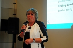 Awardwinnaar Anita Wuestman