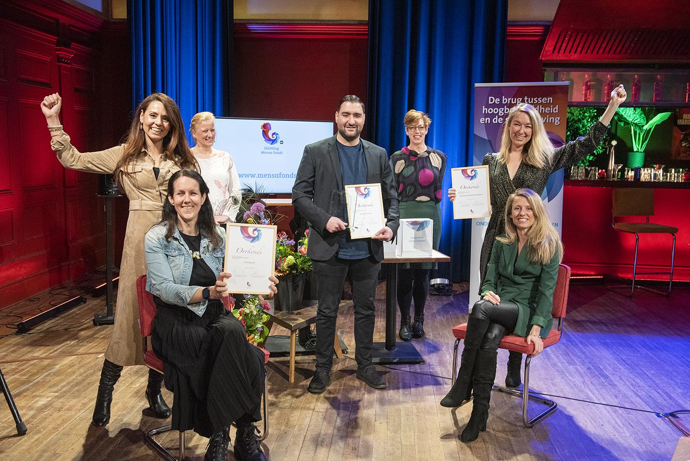 Genomineerden en winnaar Uitblinker Award