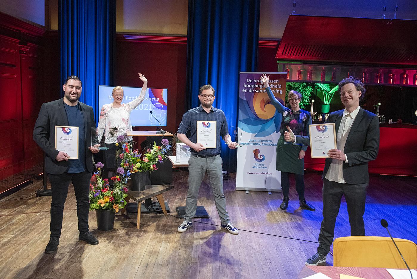 Winnaars Mensa Fonds Awards